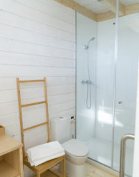 Cabaña ducha