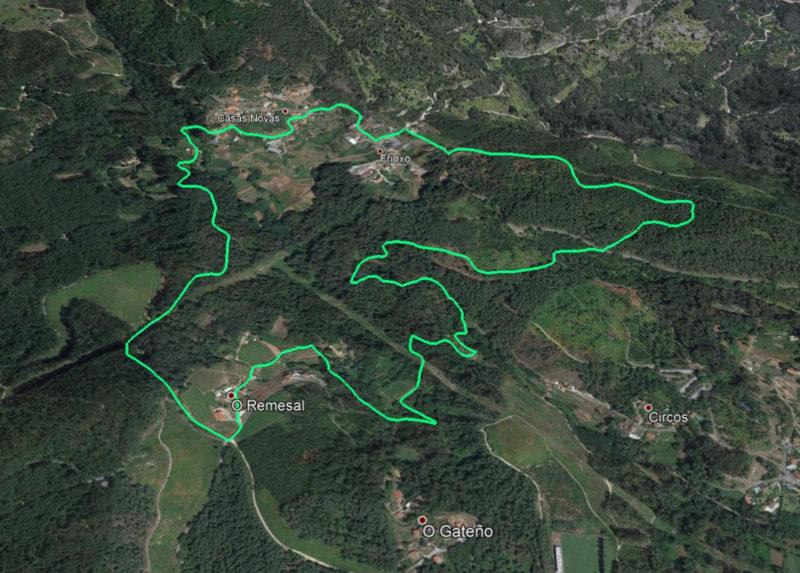 Route Bodega Remesal