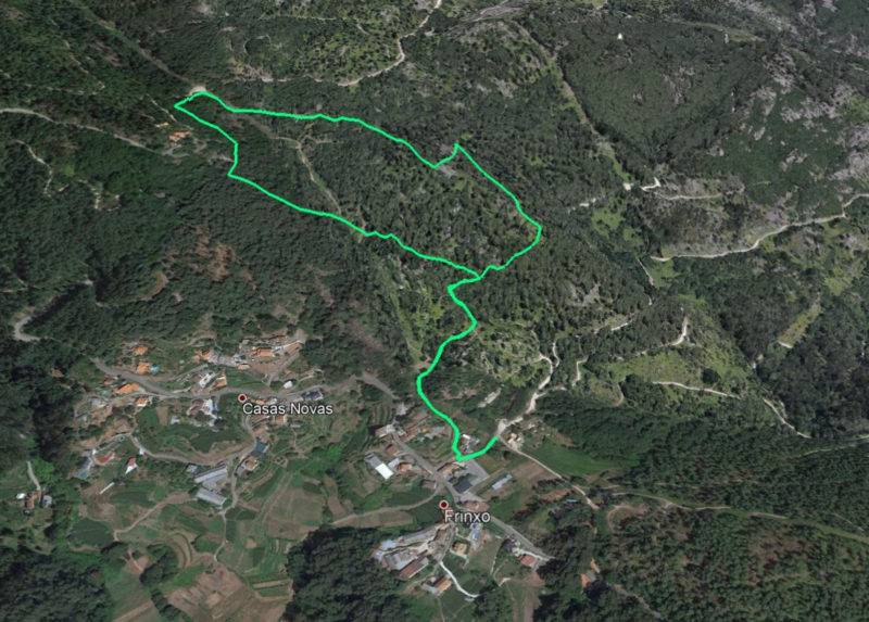 Route Rego de Pedra